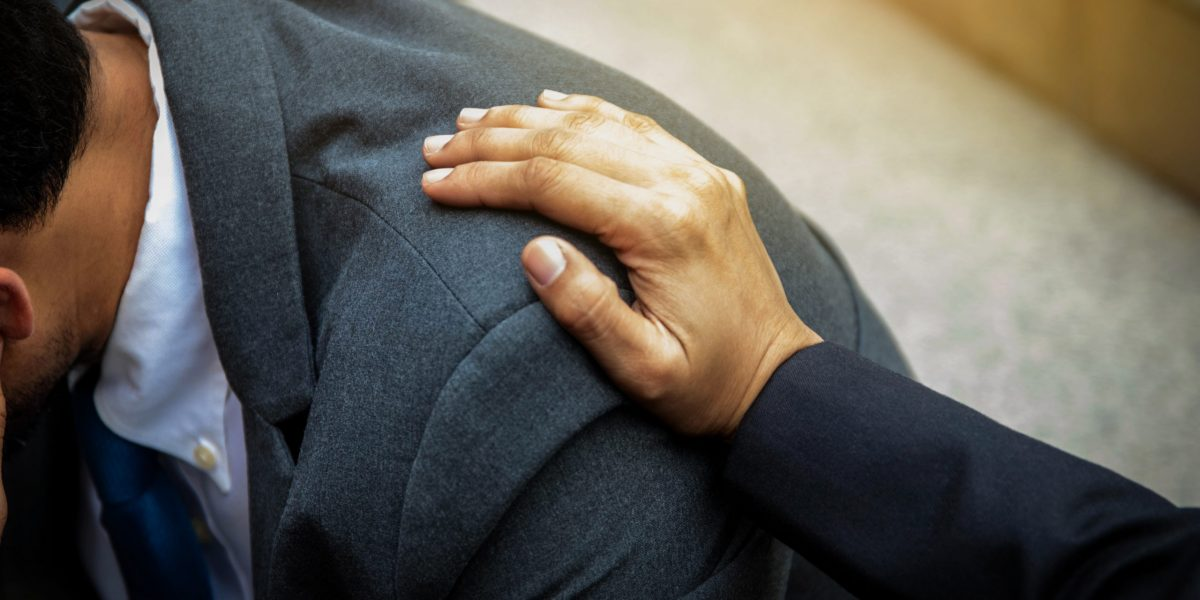 mitfühlende Hand